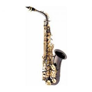 Sax Alto Schieffer Black Onyx C/Chaves Douradas