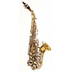 Sax Sopranino Schieffer Laqueado/Niquelado
