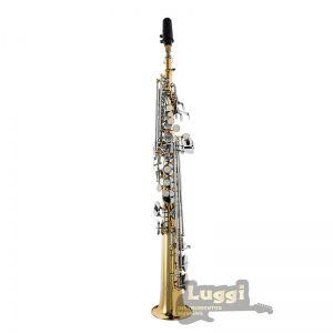 Sax Soprano Schieffer Laqueado/Niquelado Schss002