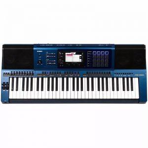 Teclado Casio Mz X500 Azul C/Fonte