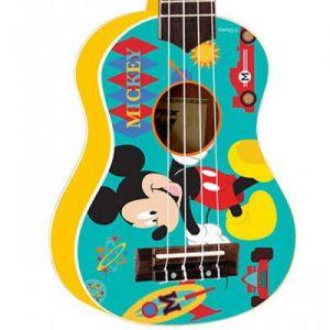 Ukulele Phx Soprano Ukp-Mk1 Mickey Amarelo
