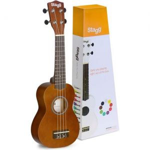 Ukulele Stagg Us Soprano Tabaco Natural