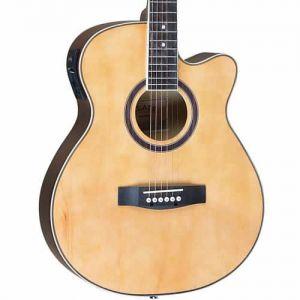 Violão Class Guitar Aço Cla40Ce Natural