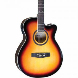 Violao Class Guitar Cla40Ce Aco Sunburst