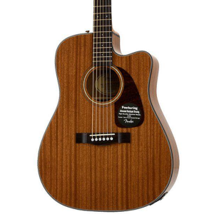 Violão Fender Dreadnought Com Case Mahogany