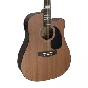 Violão Giannini GF-1D CEQ Folk Walnut Satin