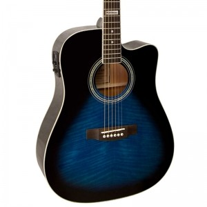Violão Giannini Gf-1D Dark Blue Folk Aço