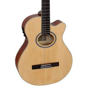 Violao Giannini Gnf-1D Ceq Nylon Natural Fosco