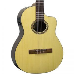 Violão Giannini Nls Cedr Ceq Natural - Folk - Nylon