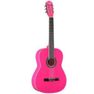 Violão Memphis Ac39 Pink