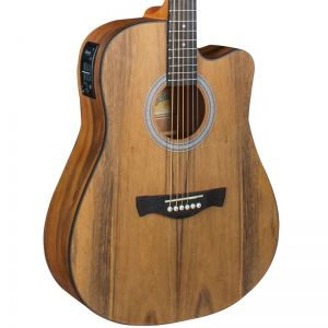 Violao Memphis Md25 Walnut Folk Natural