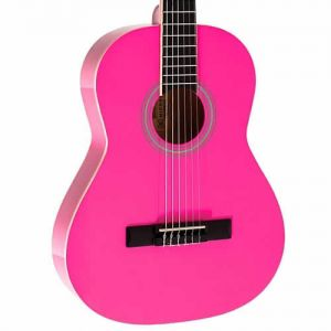 Violão Michael Vm16E 3/4 C/Capa Pink