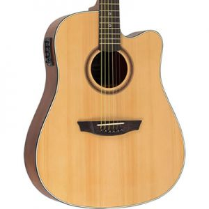 Violao Strinberg Sd200C Folk Natural Fosco