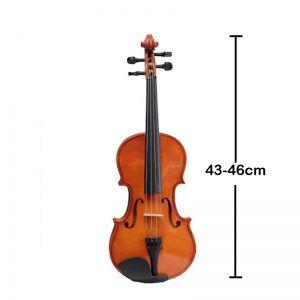 Violino 1/8 Schieffer Schv1/8-001 Brilhante  - Com Estojo, Arco e Breu