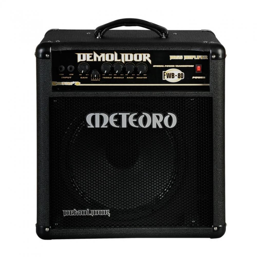 Amplificador Baixo Meteoro Demolidor Fwb80 Especia  - Luggi Instrumentos Musicais
