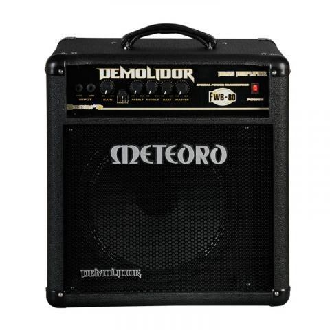 Amplificador Baixo Meteoro Demolidor Fwb80 Especial  - Luggi Instrumentos Musicais