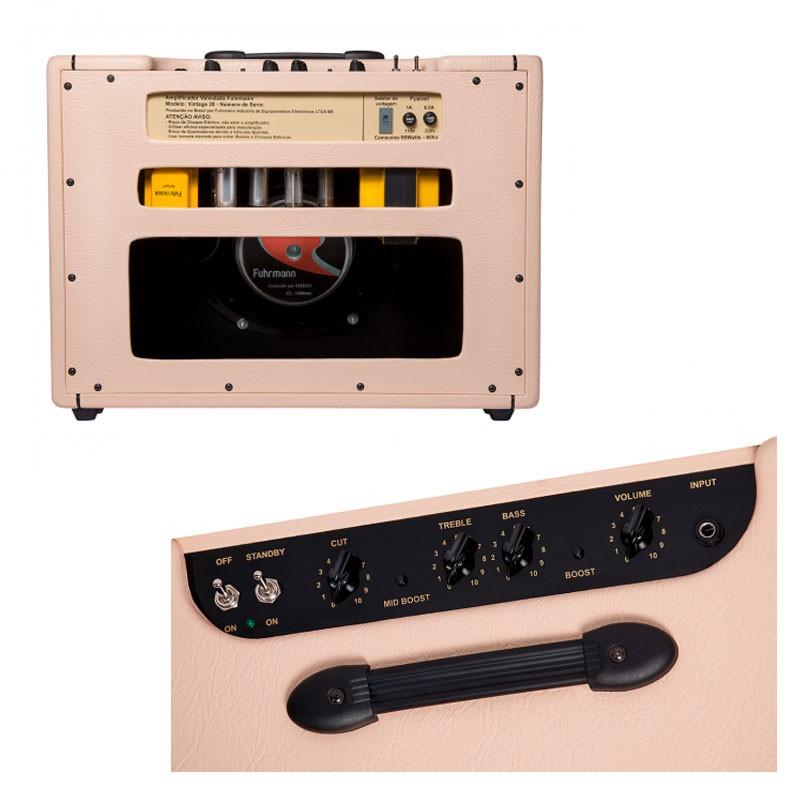 Amplificador Guitarra Fuhrmann Vintage 20 Eminence  - Luggi Instrumentos Musicais