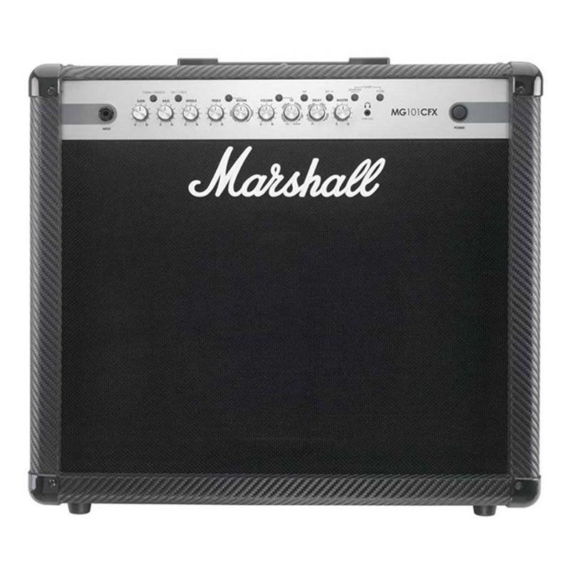 Amplificador Guitarra Marshall Mg101Cfx  - Luggi Instrumentos Musicais