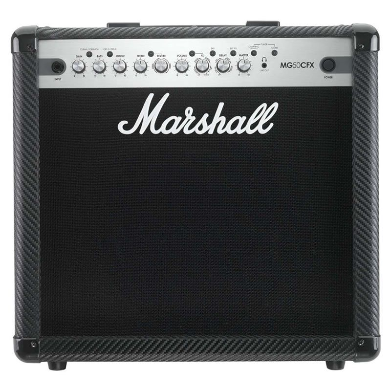 Amplificador Guitarra Marshall Mg50Cfx  - Luggi Instrumentos Musicais