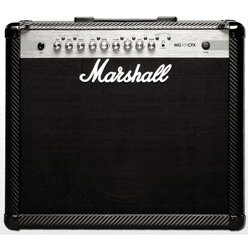 Amplificador Guitarra Marshall MG 101 CFX  - Luggi Instrumentos Musicais