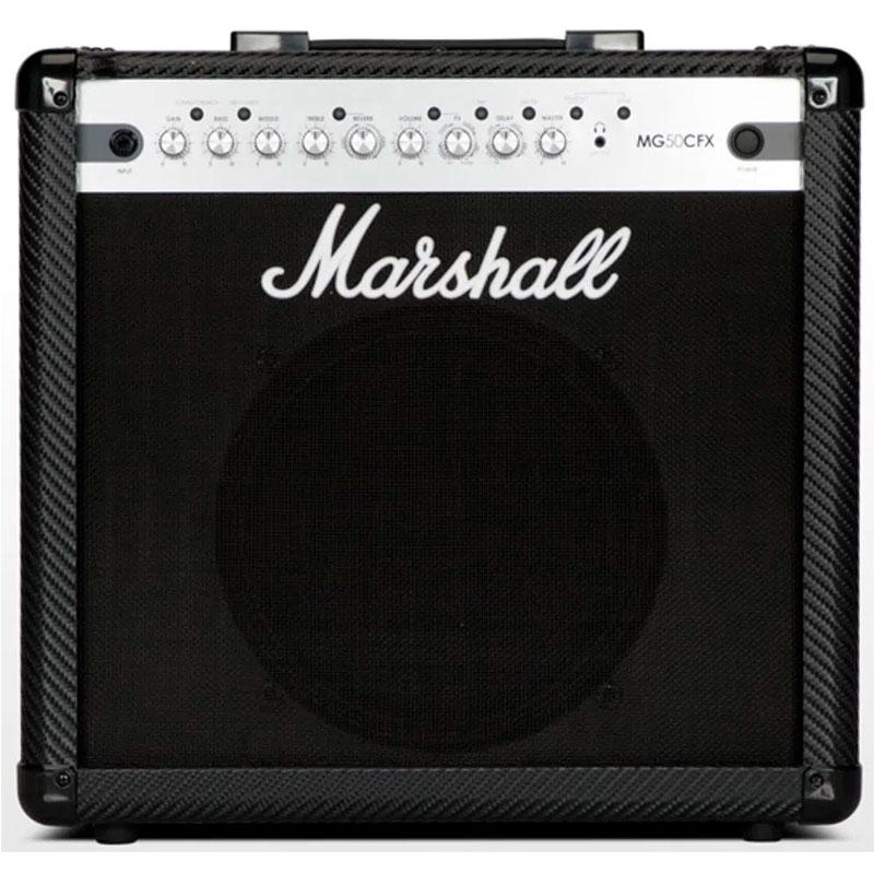 Amplificador Guitarra Marshall MG 50 CFX  - Luggi Instrumentos Musicais
