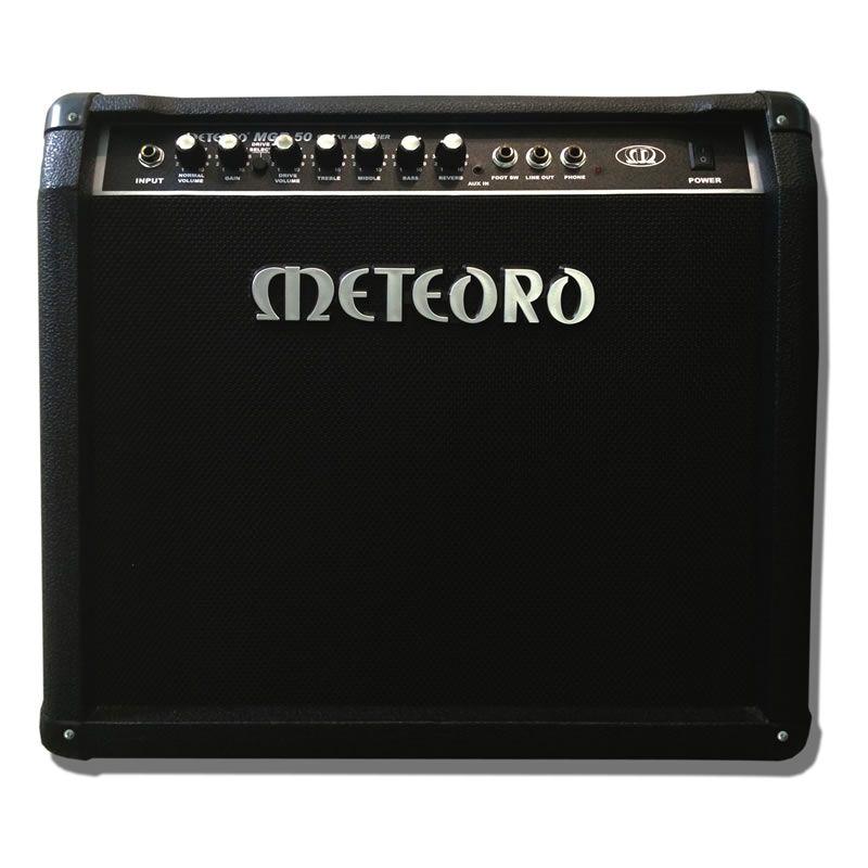 Amplificador Guitarra Meteoro Mgr50  - Luggi Instrumentos Musicais