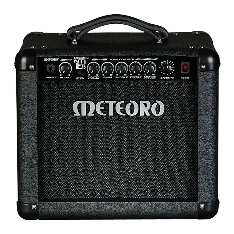 Amplificador Guitarra Meteoro Nde15 Nitrous Efeitos  - Luggi Instrumentos Musicais