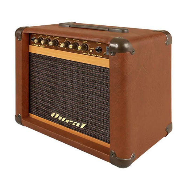Amplificador Guitarra Oneal Ocg100 Marrom  - Luggi Instrumentos Musicais