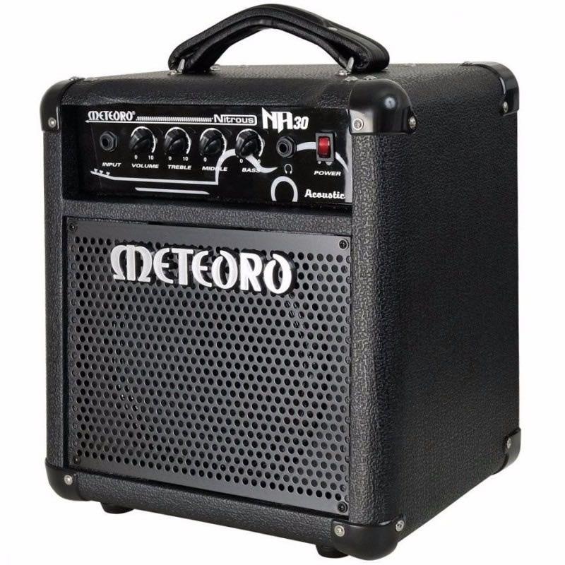 Amplificador Violão Meteoro Na30  - Luggi Instrumentos Musicais