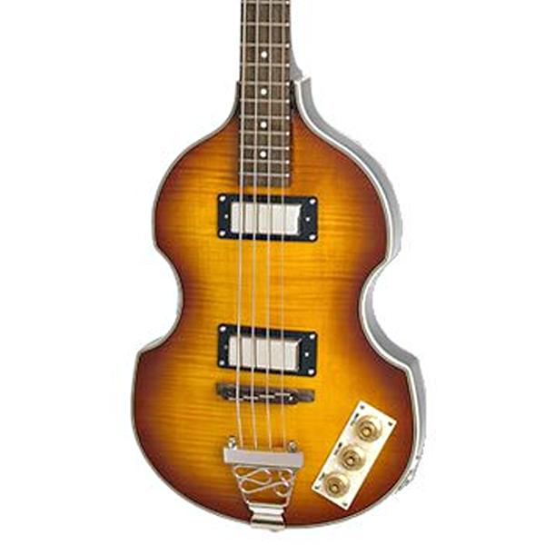 Baixo 4 Cordas Epiphone Viola Bass Vint Sunburst  - Luggi Instrumentos Musicais