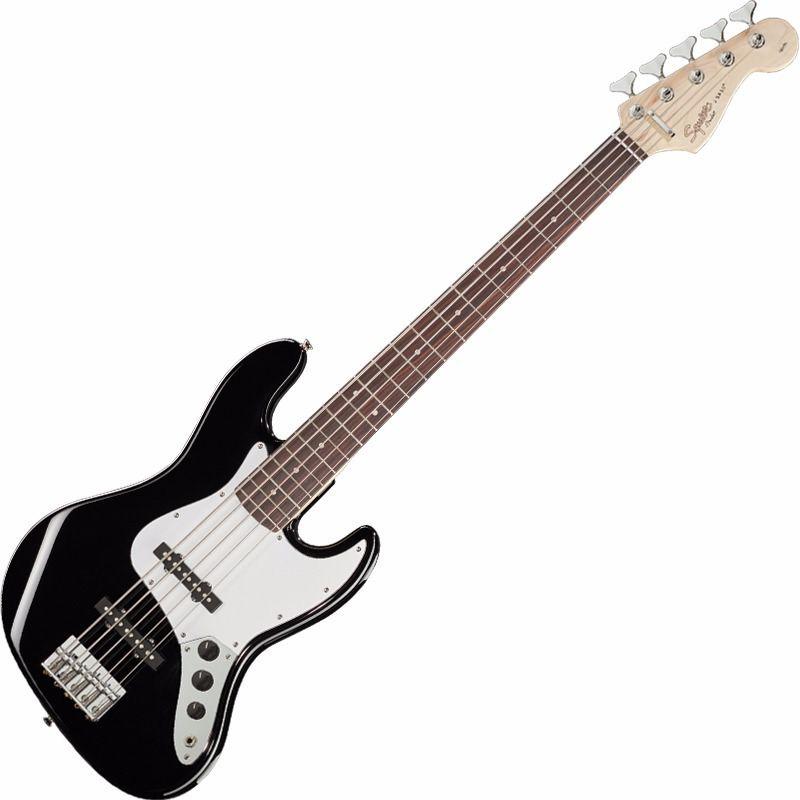 Baixo 4 Cordas Fender Squier Affinity J Bass Black  - Luggi Instrumentos Musicais