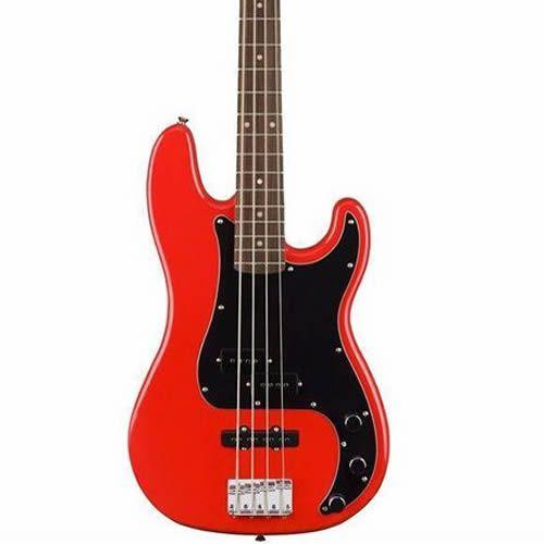 Baixo 4 Cordas Fender Squier Affinity P Bass Vermelho  - Luggi Instrumentos Musicais