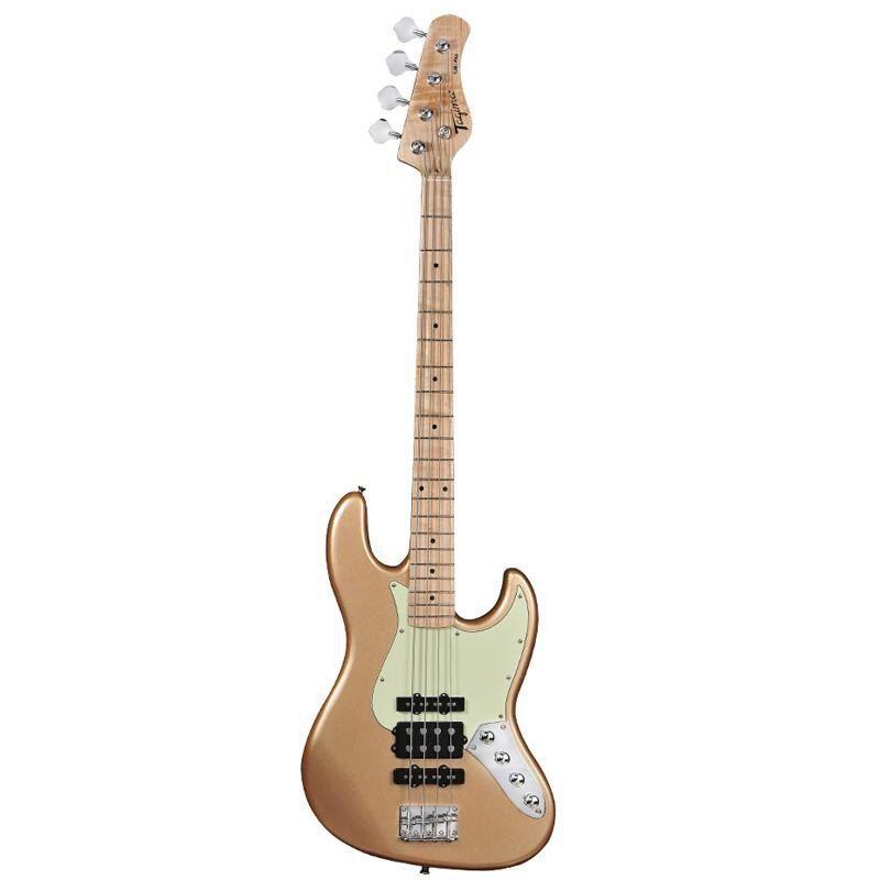 Baixo 4 Cordas Tagima Jazz Bass Jmj-4 Gold  - Luggi Instrumentos Musicais