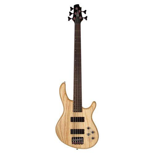 Baixo 5 Cordas Cort Action Dlx Ash Opn Natural  - Luggi Instrumentos Musicais