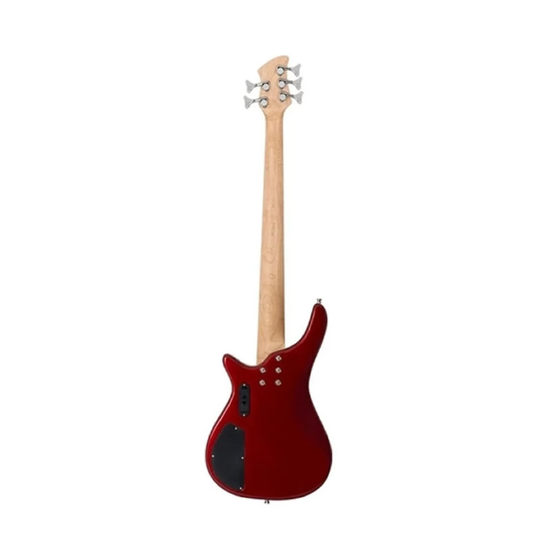BAIXO 5 CORDAS MICHAEL BM515 VERMELHA  - Luggi Instrumentos Musicais