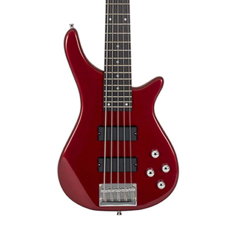 Baixo 5 Cordas Michael BM 515 Vermelha  - Luggi Instrumentos Musicais