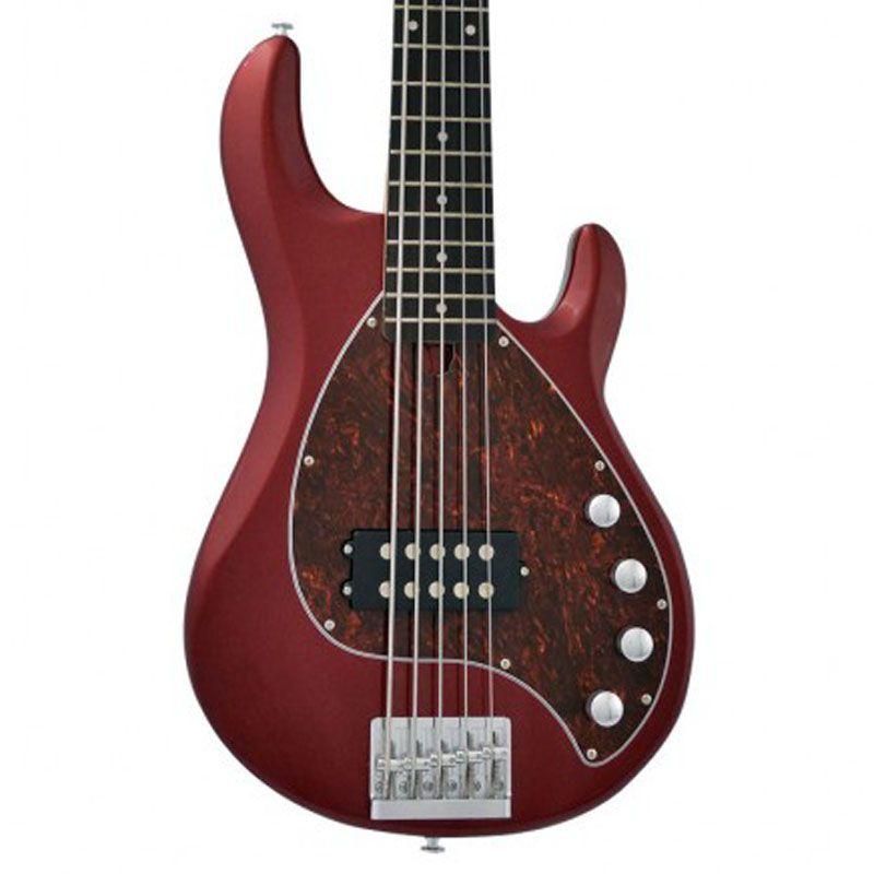 Baixo 5 Cordas Phx Msr-5 Vermelho  - Luggi Instrumentos Musicais