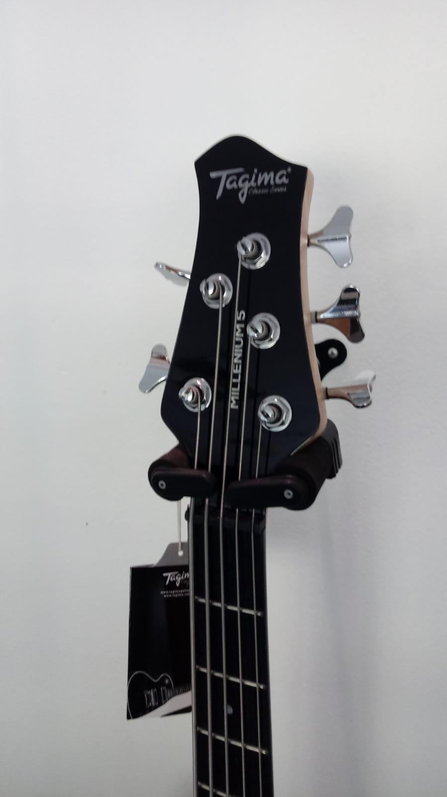 Baixo 5 Cordas Tagima TJB5 Special Series Preto  - Luggi Instrumentos Musicais