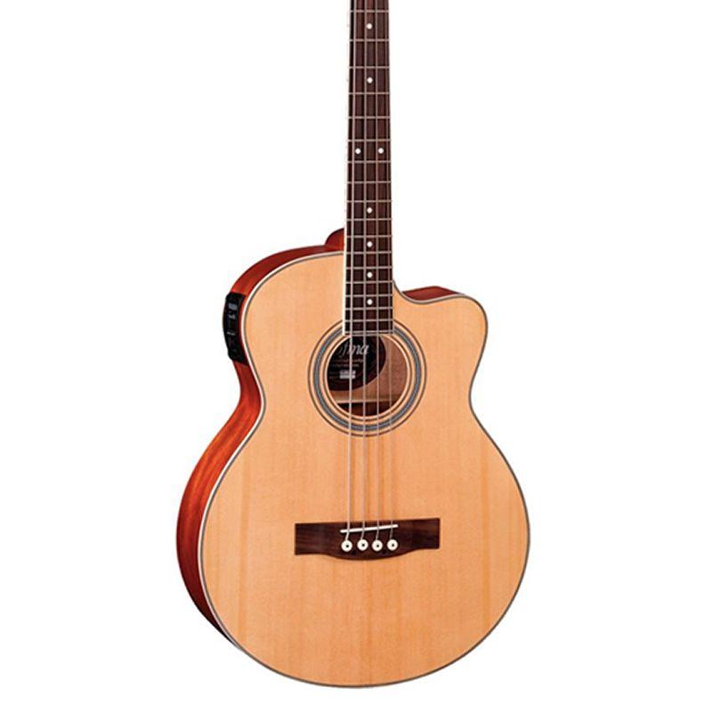 Baixolão Hofma 4 Cordas Hbs190 Natural  - Luggi Instrumentos Musicais