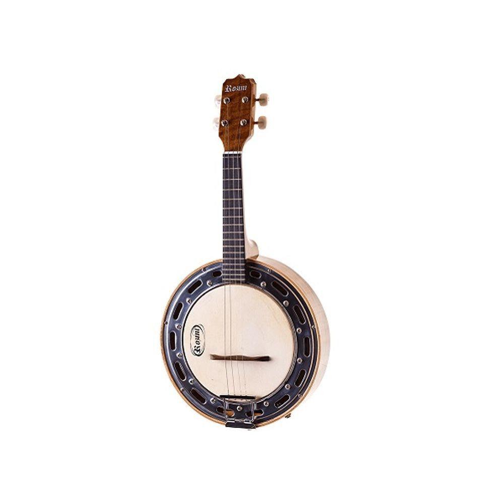 Banjo Rozini RJ11 Eletronico Natural  - Luggi Instrumentos Musicais