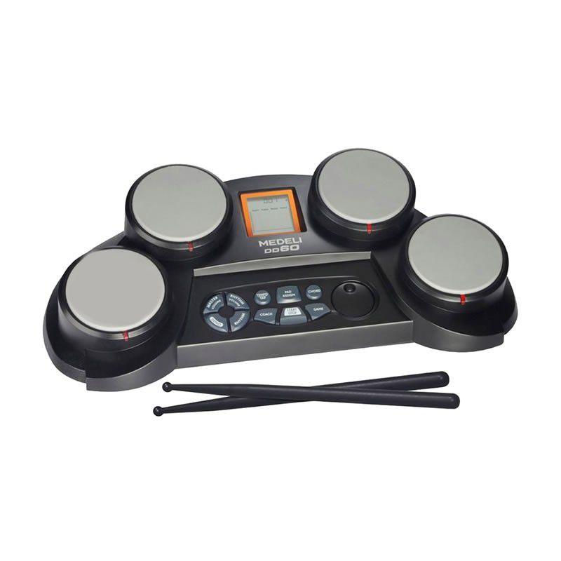 Bateria Eletrônica Medeli Digital Drum Dd60  - Luggi Instrumentos Musicais