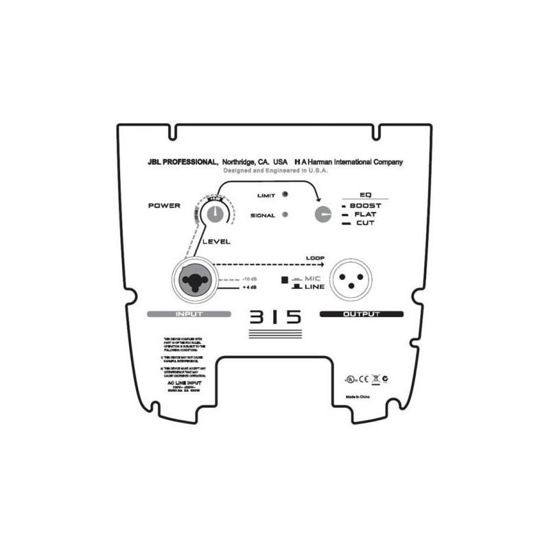 Caixa JBL Ativa EON 315   - Luggi Instrumentos Musicais