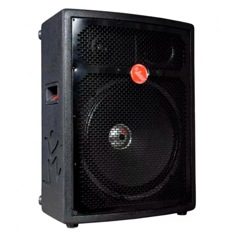 """Caixa Leacs Fit 550 Ativa Falante 15"""" 250w Usb/bluetooth  - Luggi Instrumentos Musicais"""