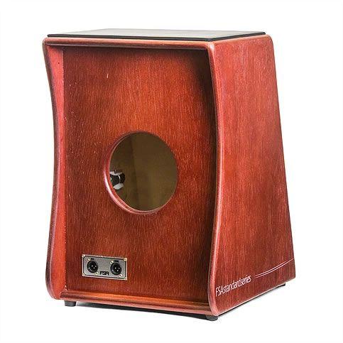 Cajon Fsa Standard Fs2503 Eletrico Mogno  - Luggi Instrumentos Musicais