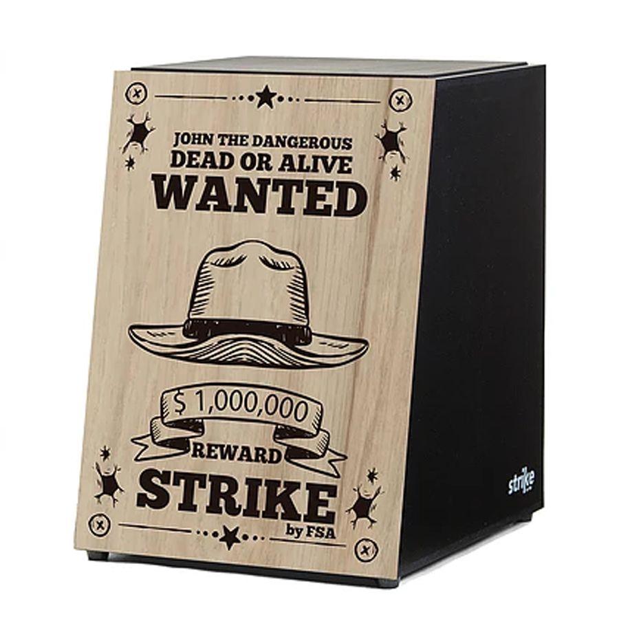 Cajon Fsa Strike Sk4018 Wanted  - Luggi Instrumentos Musicais