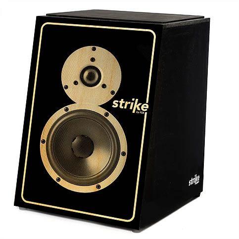 Cajon Fsa Strike Sk5011 Elétrico Soundbox  - Luggi Instrumentos Musicais