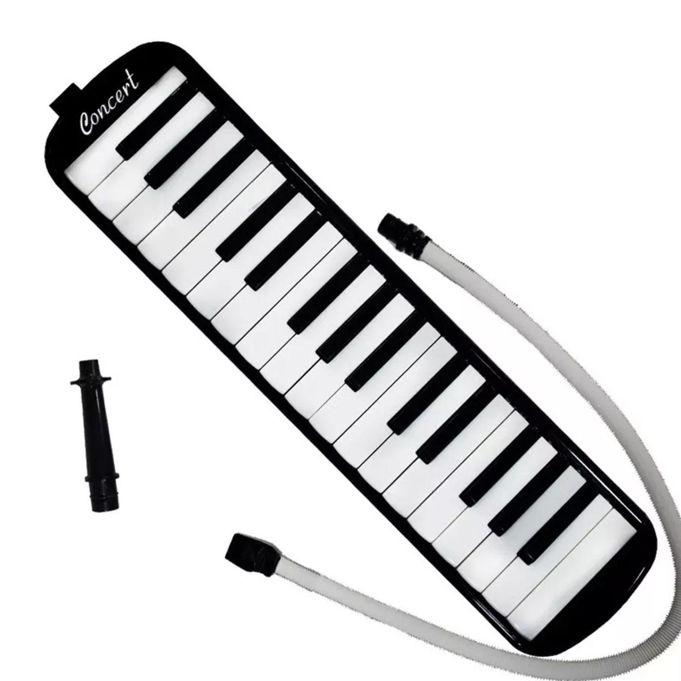 Escaleta Concert 32 Teclas Preta  - Luggi Instrumentos Musicais