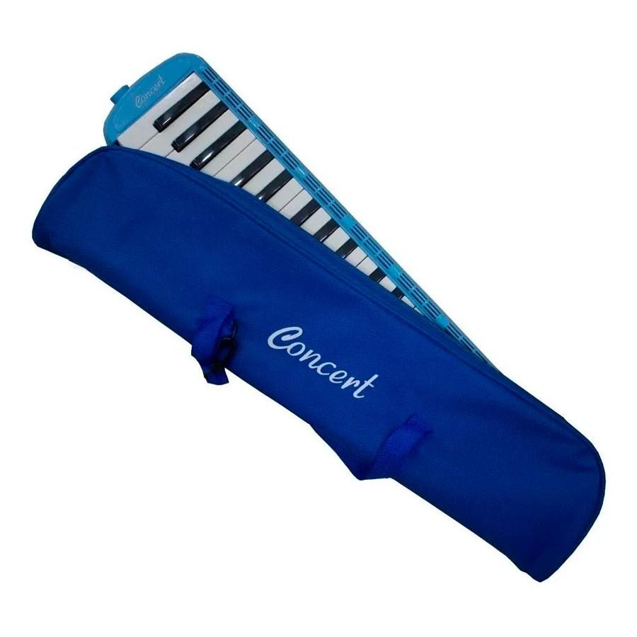Escaleta Concert 37 Teclas Azul  - Luggi Instrumentos Musicais