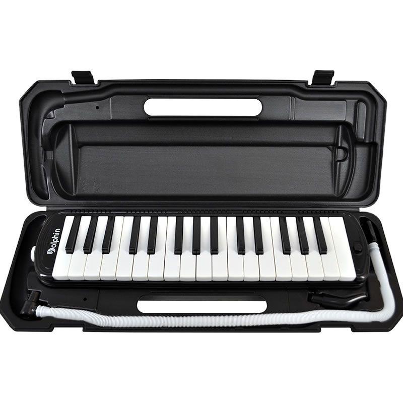Escaleta Dolphin 32 Teclas Preta  - Luggi Instrumentos Musicais