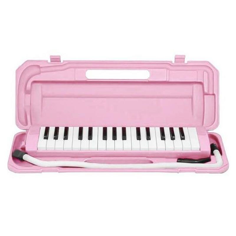 Escaleta Dolphin 32 Teclas Rosa  - Luggi Instrumentos Musicais